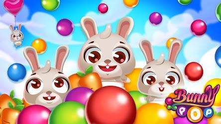 Bunny Pop مهكرة للاندرويد