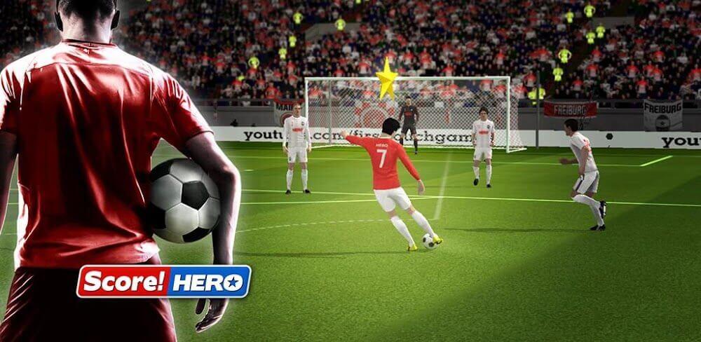 score hero 2 مهكرة